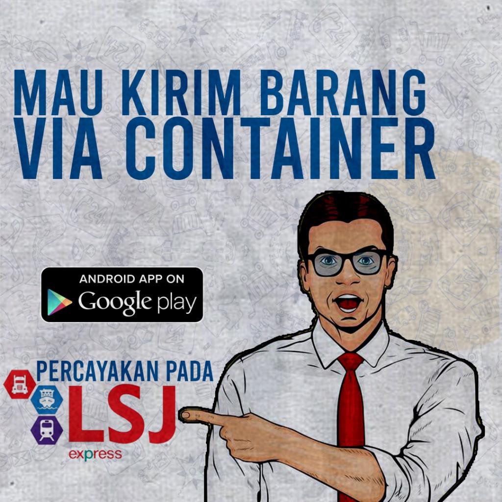 Jasa Ekspedisi via Kontainer Surabaya - Penajam | LsjExpress