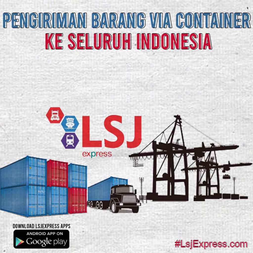 Ekspedisi Pengiriman Barang Via Container Bandung ke Bau Bau