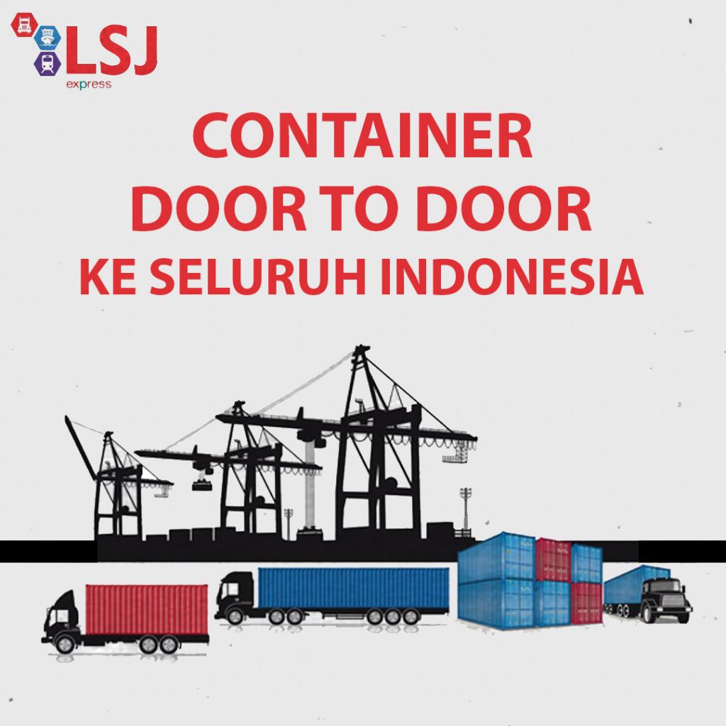 Sewa Container Bandung ke Serui