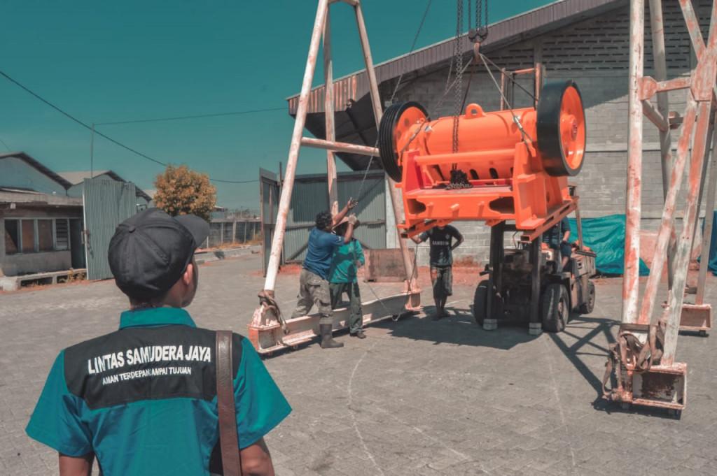 Loading Mesin Tujuan Kalimantan